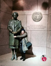 LadydeeLG and Eleanor Roosevelt
