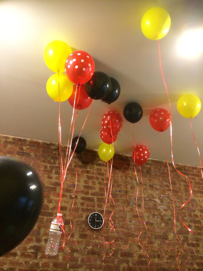 globos mickey mouse fiesta