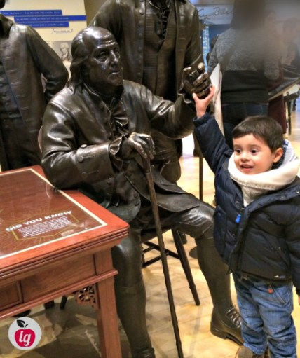 Enzo and Ben Franklin