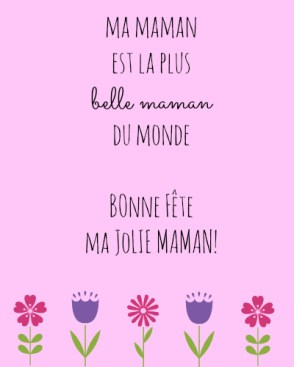 Free French Mother's Day Cards