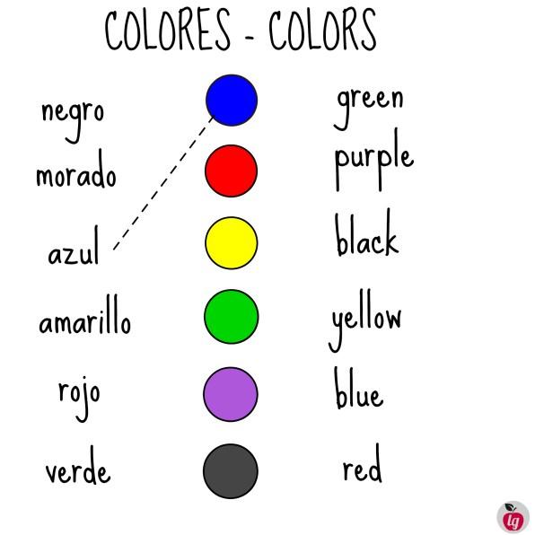 colors / colores