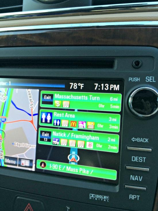 navigation system-buick-enclave-2015