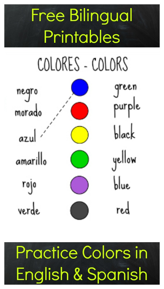 Handy image within spanish for preschoolers free printable