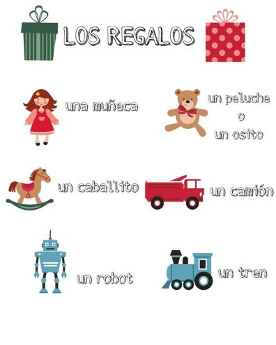 Spanish Christmas printable