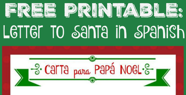 photo regarding Free Printable Letter From Santa identify No cost Printable Letter in the direction of Santa within just Spanish! - LadydeeLG
