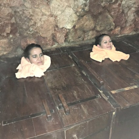 sauna boxes in Cuenca