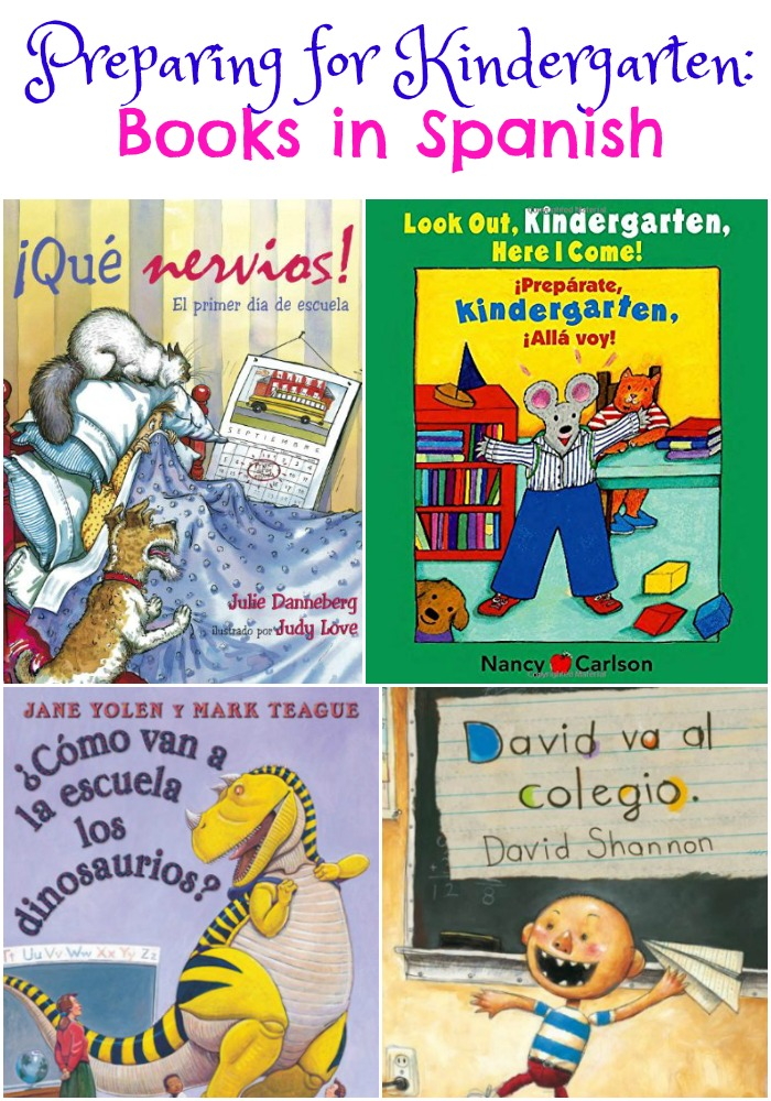 Preparing for Kindergarten: Books in Spanish