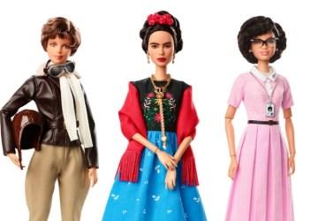 Inspiring Women Barbie dolls