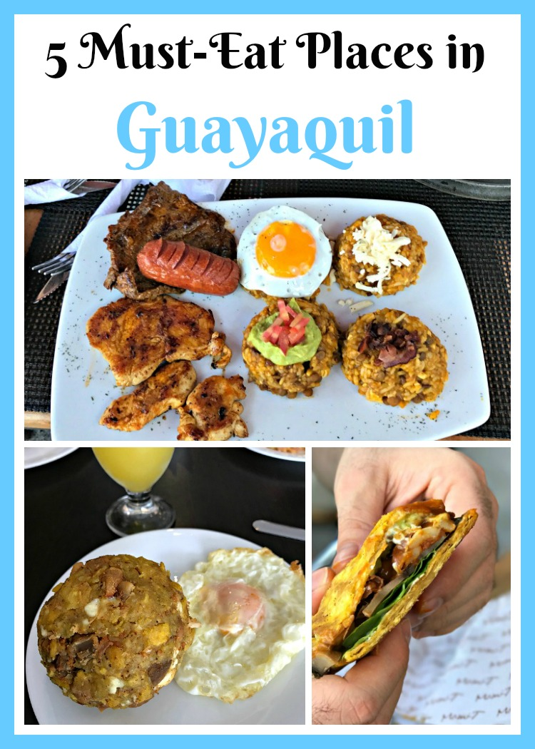 Must Eat Places in Guayaquil