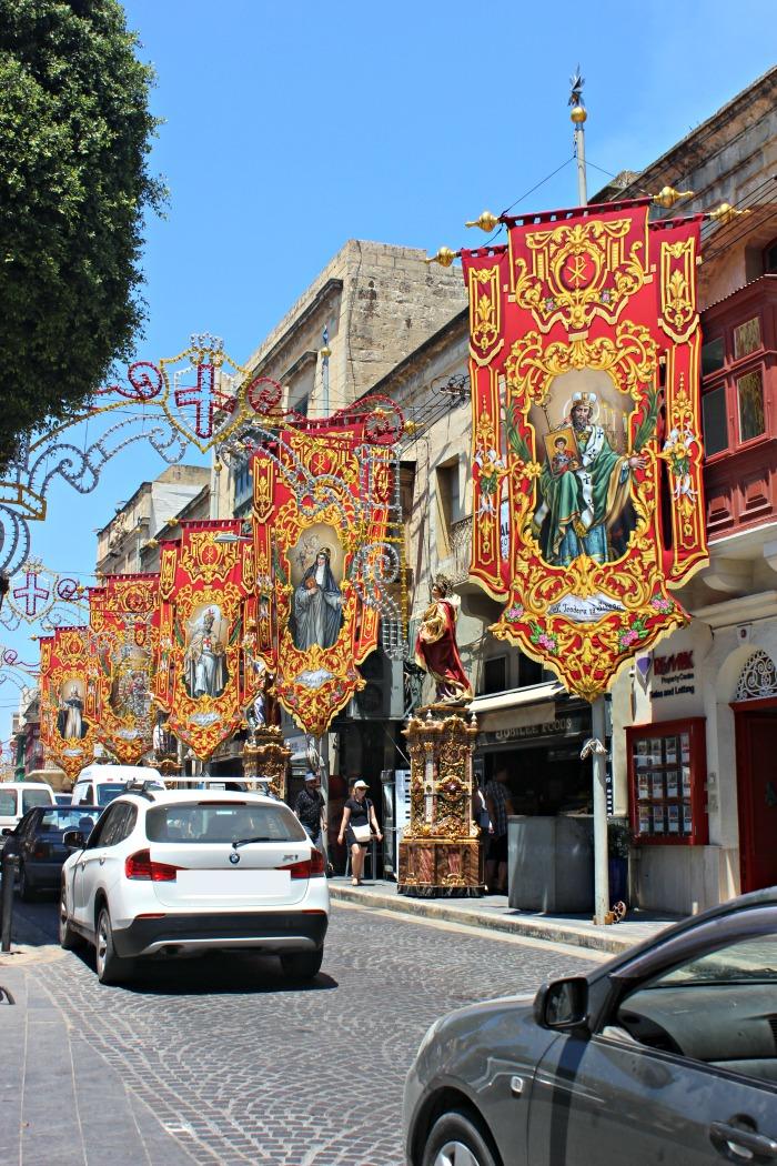 The St. George Feast in Gozo, Malta