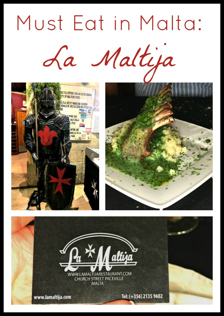 Must eat in Malta-La Maltija Restaurant