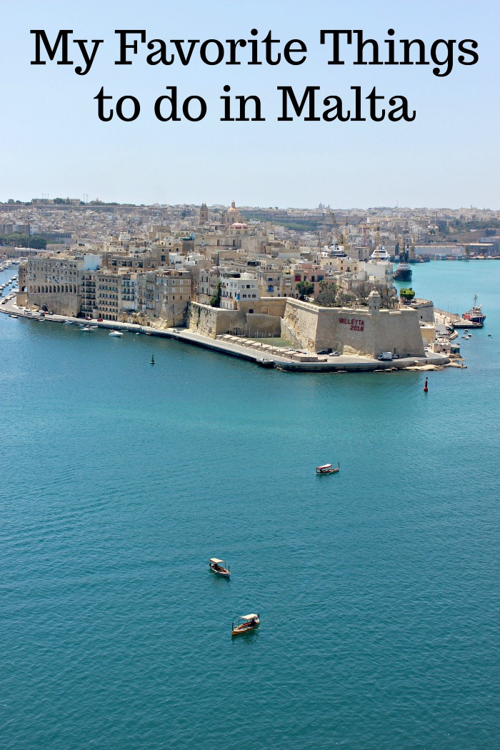 My favorite things to do in Malta