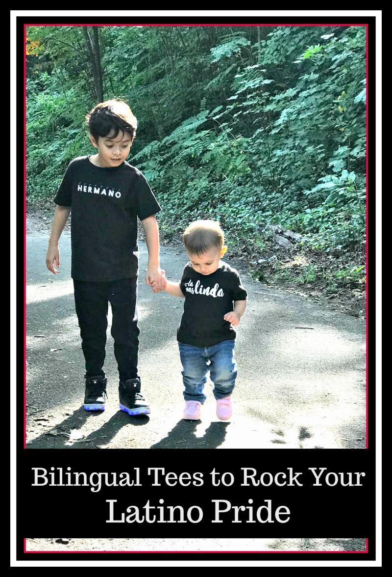 Bilingual Tees to Rock your Latino Pride