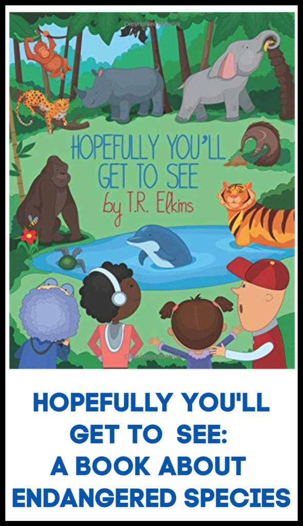 book on endangered species for kids