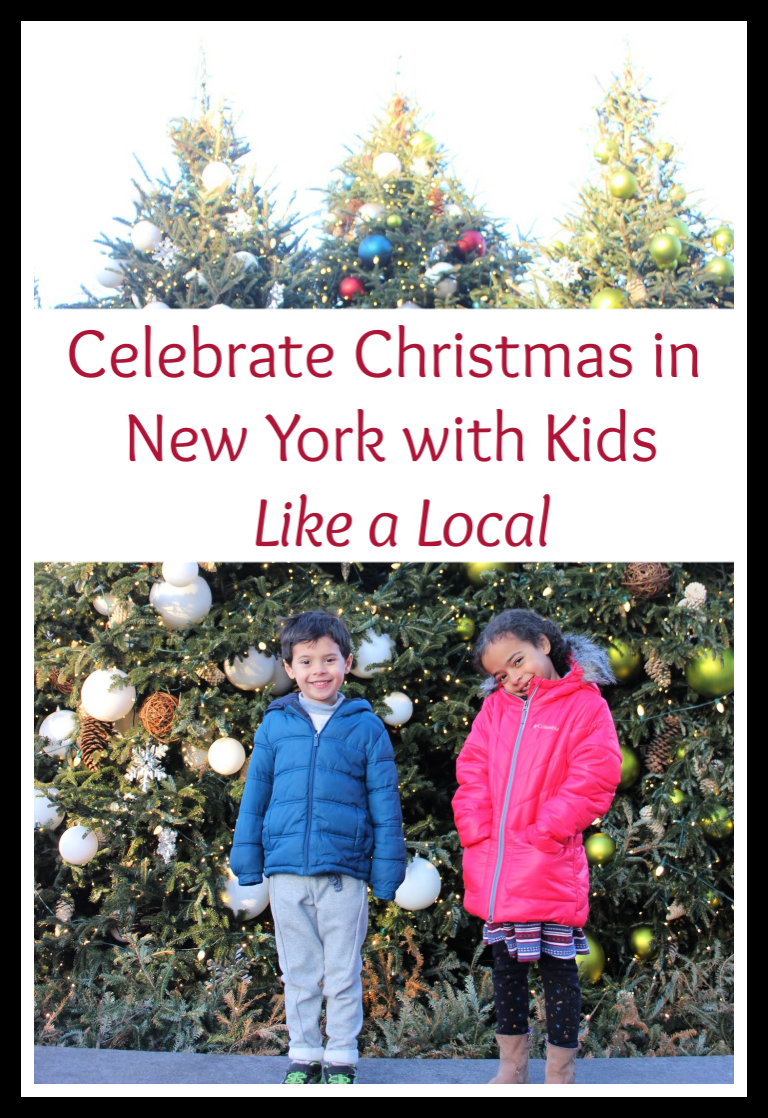 Celebrate Christmas in New York with Kids Like a Local