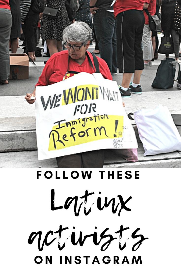 Latinx Activists on Instagram