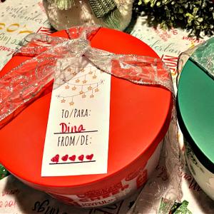 bilingual Christmas gift tags