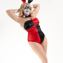 Bunny Harley Quinn by LadyDragon Creations