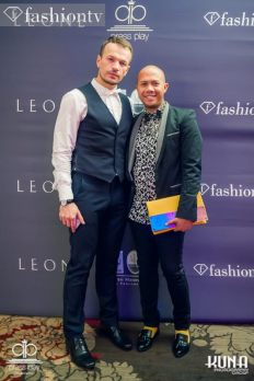 Vladimir Markovich and LADY during Fashion TV Vancuver Launch