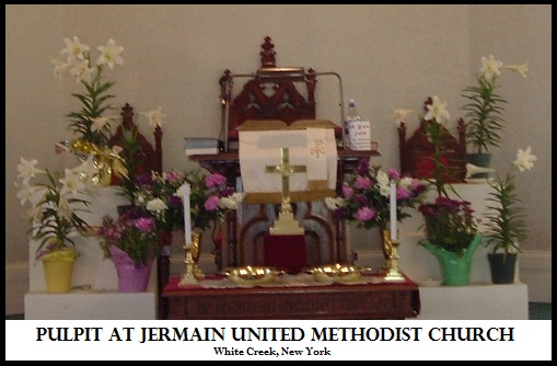 Jermain United Methodist Church Pulpit