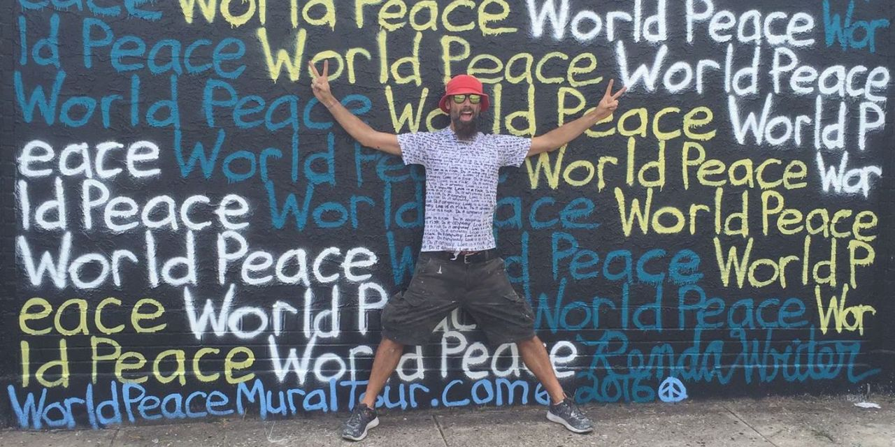Artist Spreads Message of World Peace, One Mural at a Time