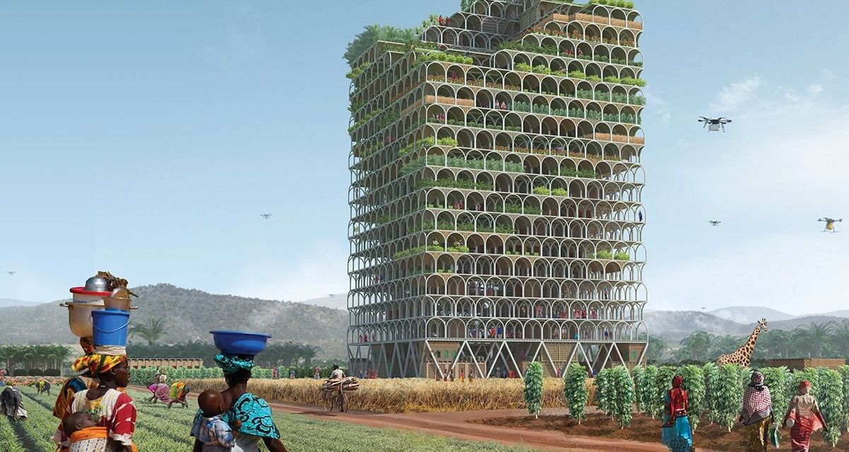 New Skyscraper Farm Will Feed A Village
