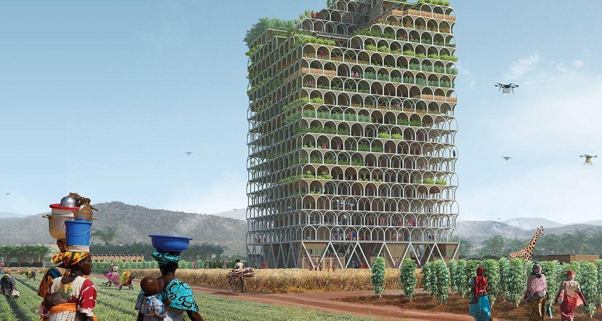 New Skyscraper Farm Will Feed A Village