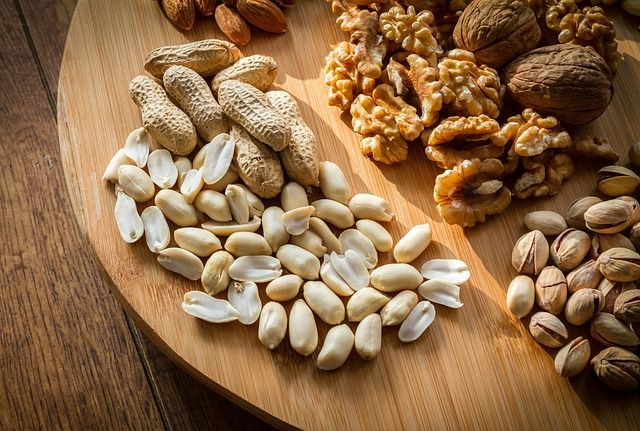 Mixed nut platter.