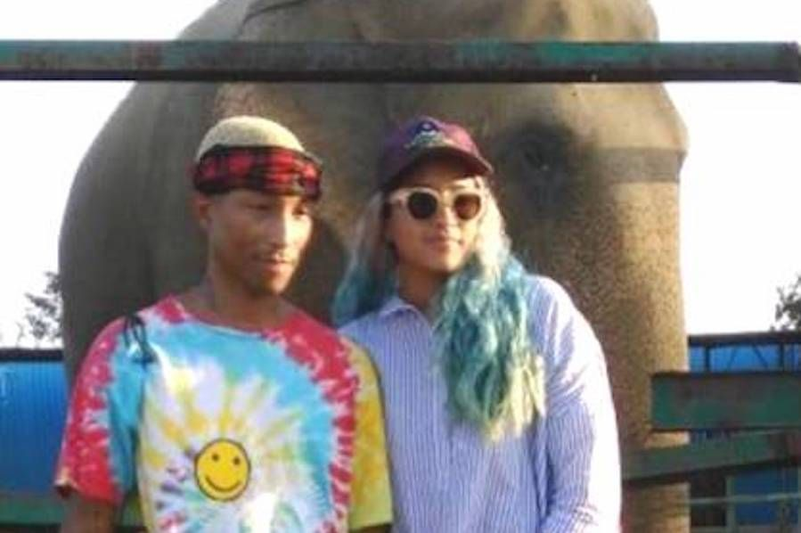 Pharrell Visits an Elephant Sanctuary and Learns About Saving these Majestic Animals