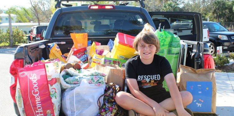 10-Year-Old Hero Requests Shelter Donations Instead Of Birthday Gifts