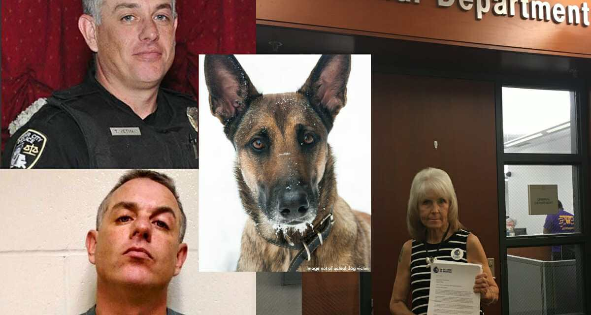 Officer Out on Bail for 40 Counts of Dog Sex Abuse Now Arrested for Child Pornography
