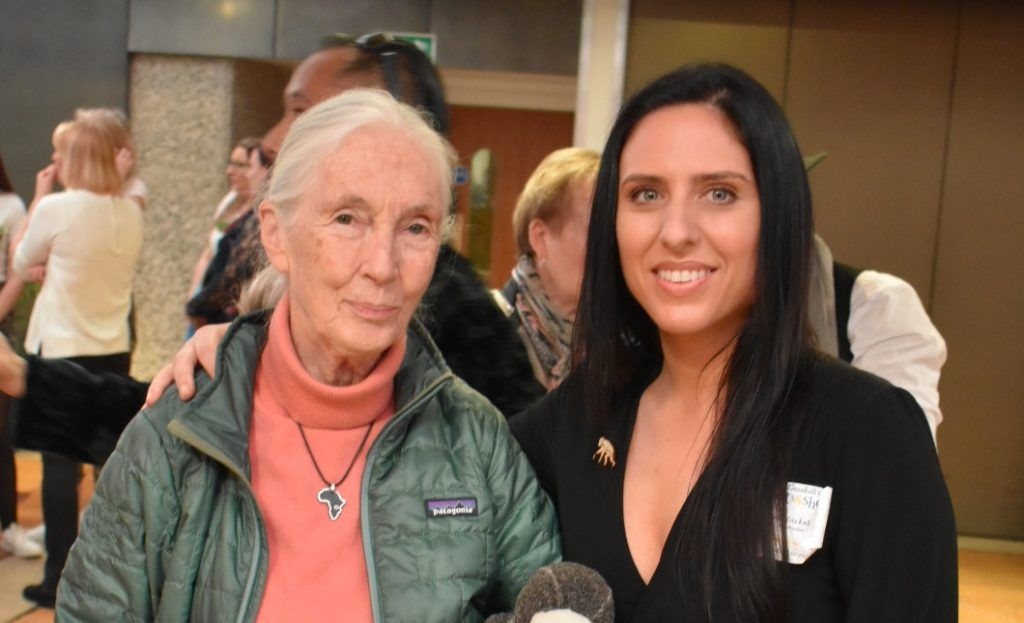 nina jackel lady freethinker and jane goodall