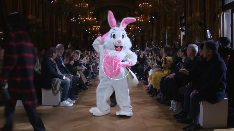 Stella McCartney's Animal Costumes Bring the Cruelty-Free Message to Paris Fashion Week