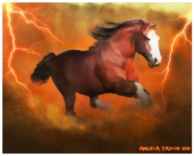 Draft Horse Morph for the Millennium Horse by Daz3d