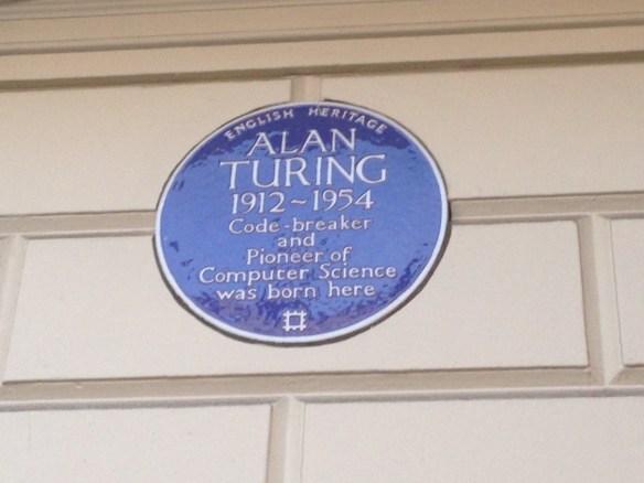 Alan Turing plaque