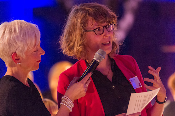 Nieske op de Femme Tech awards