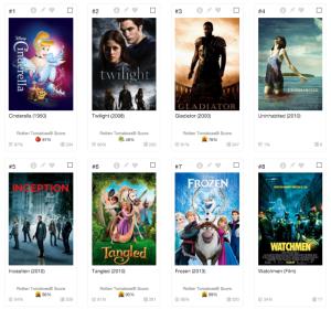 Single word movie titles