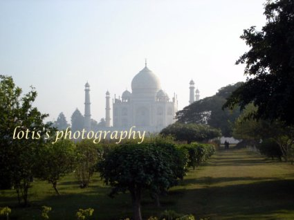 View of the Taj