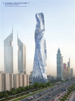 Dynamic architecture, AP photo