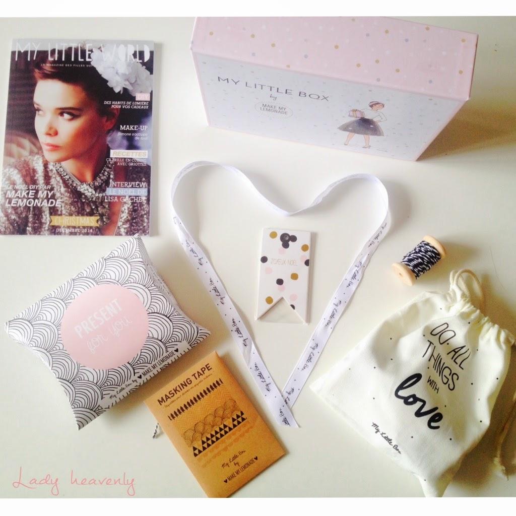 My Litlle Box - Décembre 2014
