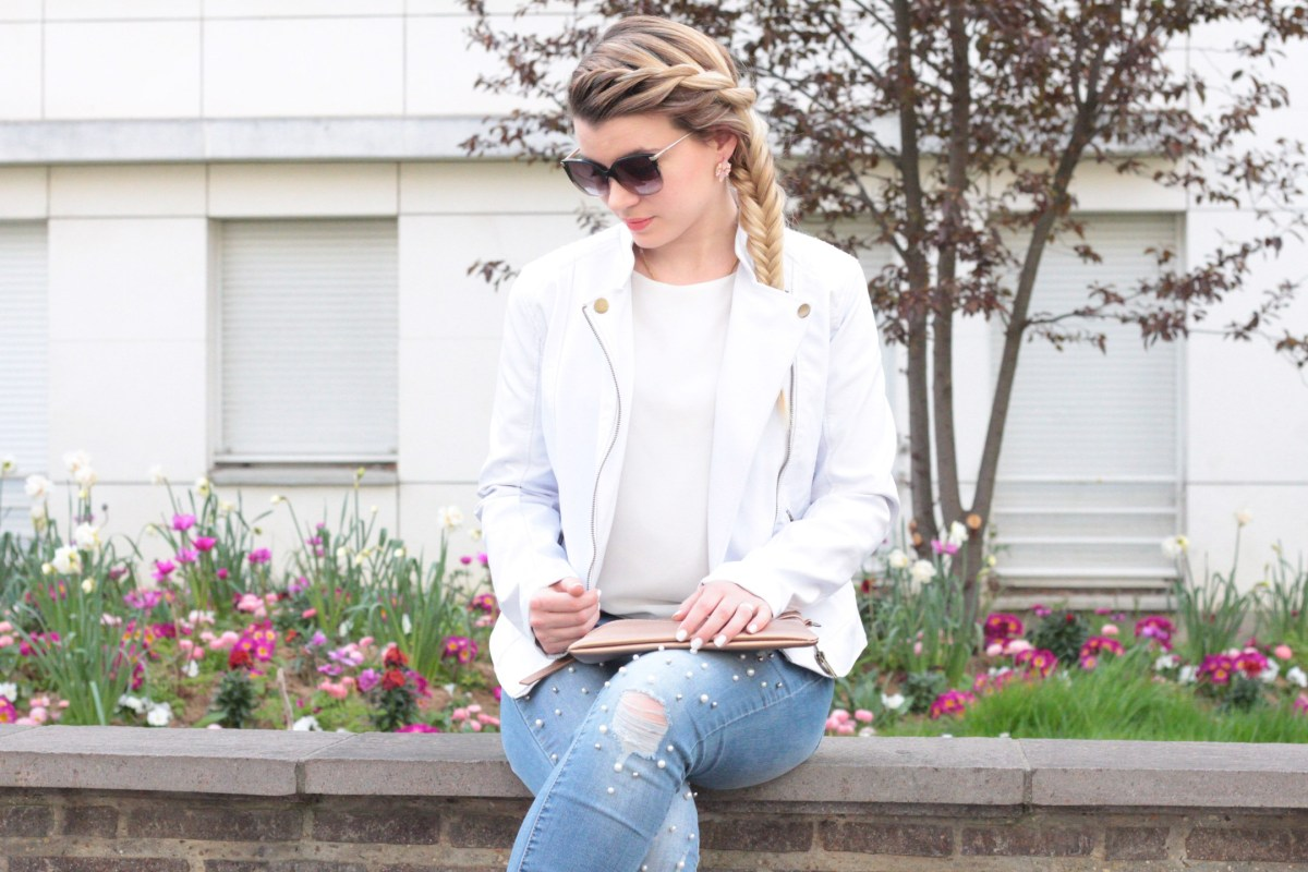 Friday Wear : Mon jeans à perles #look