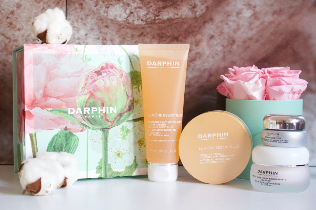 Ma routine soin avec Darphin pour une peau radieuse ♥