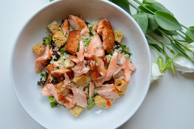 Salmon and Cous Cous Salad
