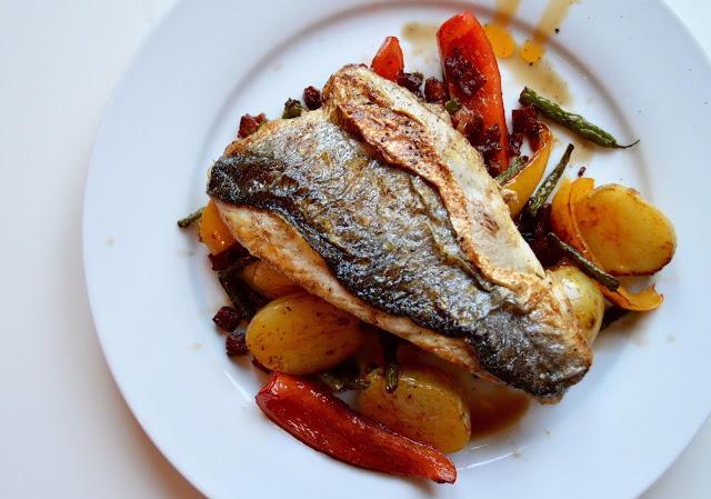 Sea Bass Inspired by Scotland