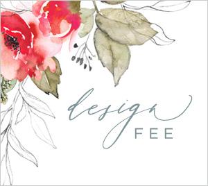 wedding invite design fee by lady jae