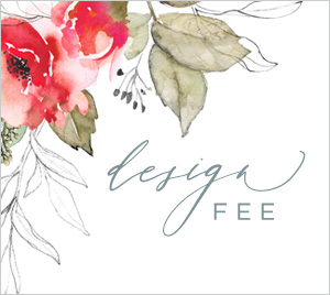 wedding invite design fee by lady jae