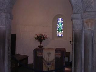 Interior, St Margaret's Chapel, Edinburgh Castle