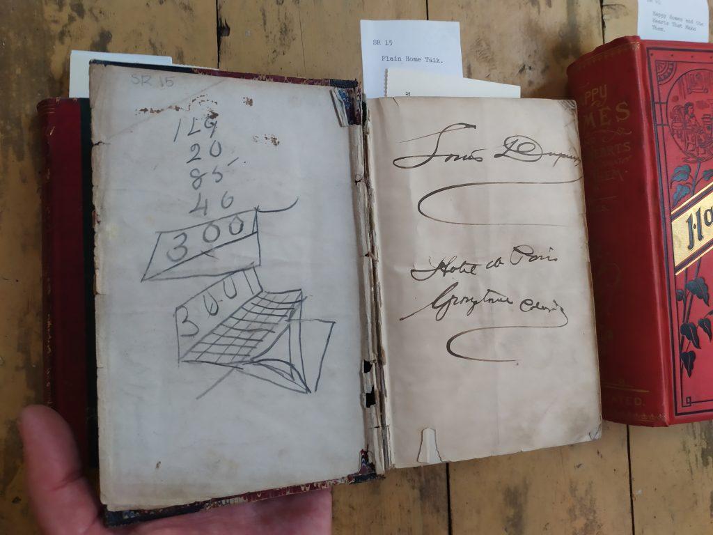 Louis Dupuy's signature