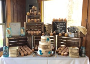 Wedding Cake, Cupcakes, and Who will get cake in their face?
