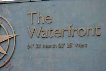 The Waterfront in Cumbria, along with exact location